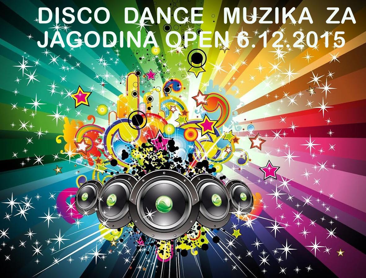 MUZIKA ZA DISCO DANCE – SIDF  JAGODINA OPEN – 6.12.2015