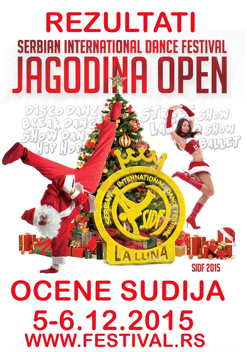 SIDF-Jagodina Open-5-6.12.2015- REZULTATI