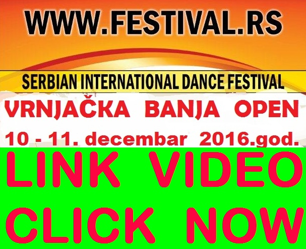 WELCOME TO VRNJAČKA BANJA!  LINK VIDEO.