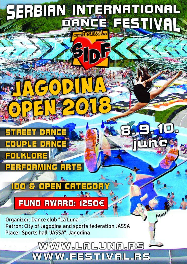 SIDF-Jagodina Open-2018