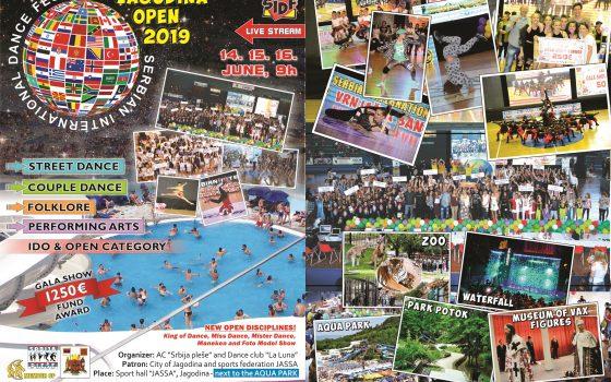 Jagodina Open 14. – 16. jun 2019.
