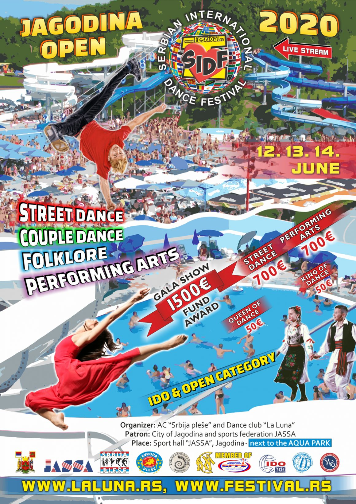 Jagodina Open 13. – 14. jun 2020.