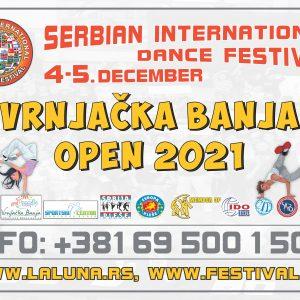 Serbian International Dance Festival-Vrnjačka Banja Open-4-5.dec.2021